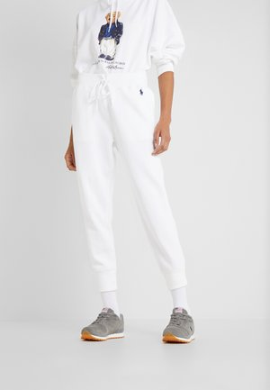 SEASONAL - Tracksuit bottoms - white
