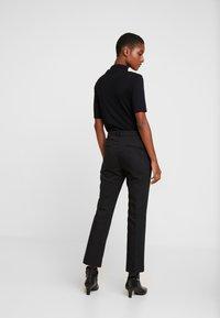 InWear - ZELLA KICKFLARE PANT - Trousers - black - 3