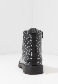 LIU JO - PAT BIKERS - Šněrovací kotníkové boty - black - 4