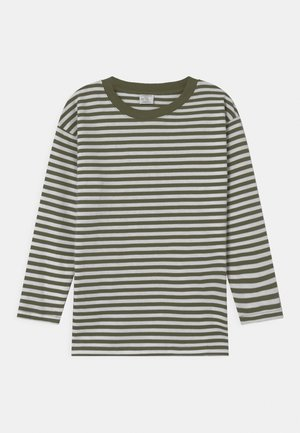 STRIPED UNISEX - Long sleeved top - khaki
