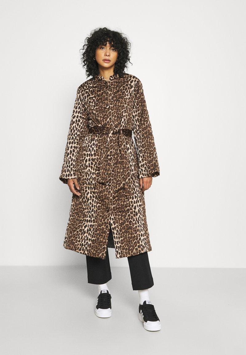Cras - OLLIE - Classic coat - brown