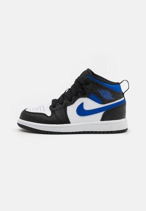 1 MID UNISEX - Scarpe da basket - white/racer blue/black