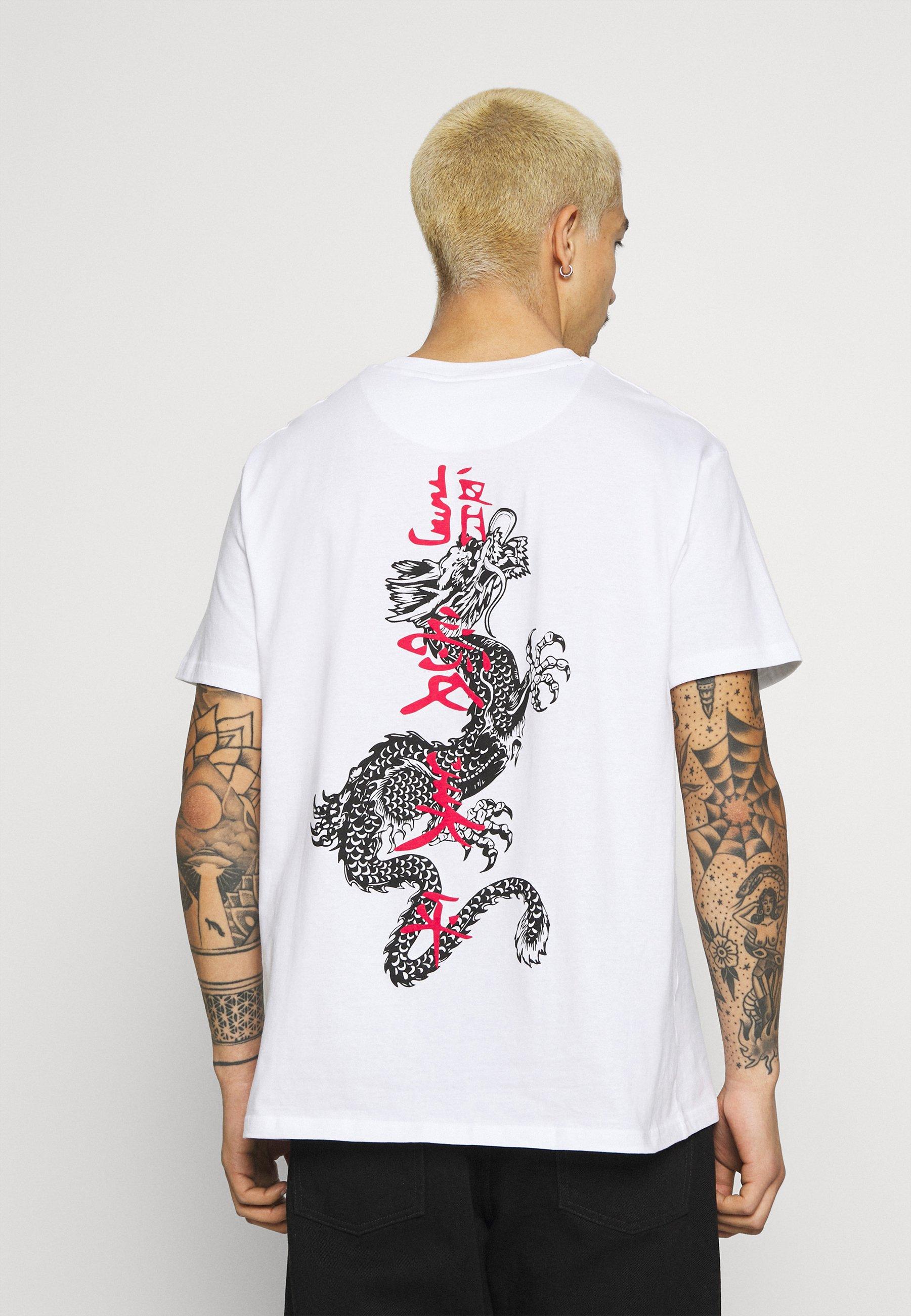 Men FIRE - Print T-shirt