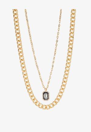 MULTIROW - Necklace - black