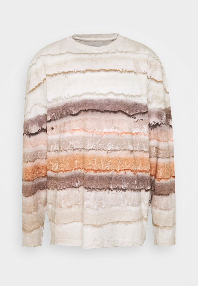 SEDIMENTS - Long sleeved top - beige mix