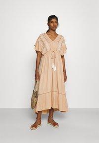 YAS - YASFANNI DRESS  - Maxi dress - toasted almond - 1