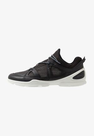BIOM STREET - Hiking shoes - black/dark shadow/wild dove