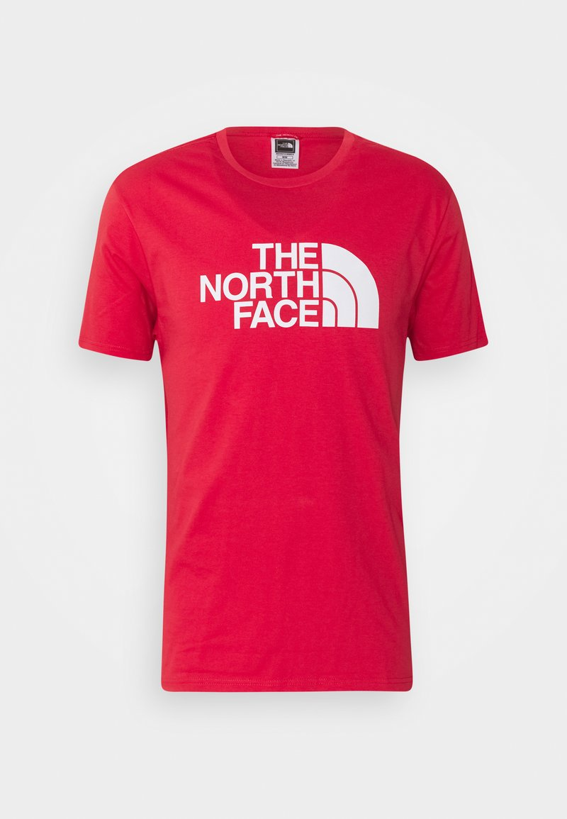 The North Face - M S/S EASY TEE - EU - T-shirt con stampa - rococco red