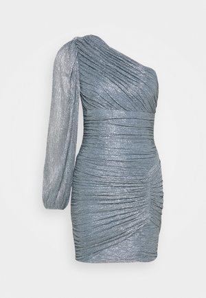 ONE SHOULDER DRESS - Vestito elegante - shadow blue