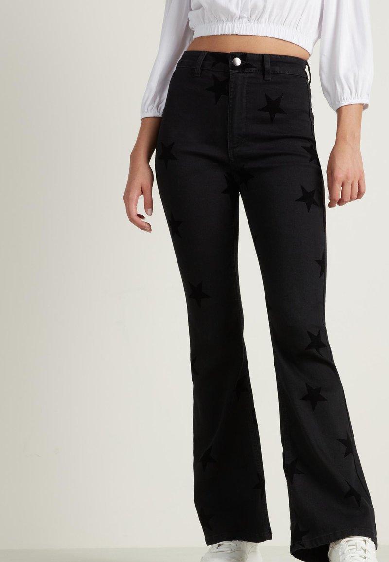 Tezenis - Bootcut jeans - nero