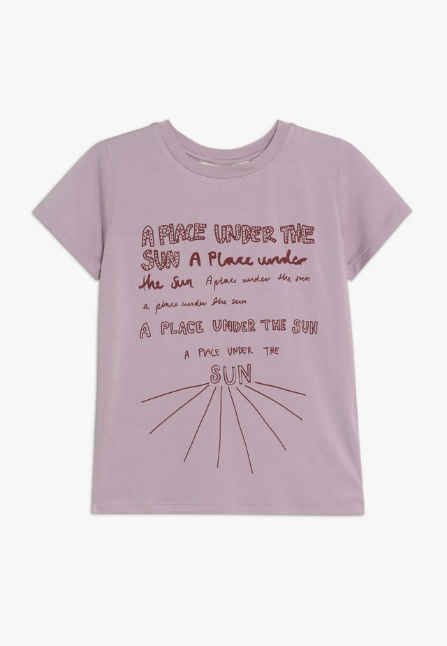 BASS SUNSPOT - Camiseta estampada - dawn pink