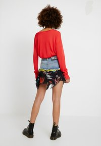 Diesel - O-BRIELLA SKIRT - Mini skirt - indigo/schwarz - 2