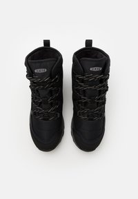Keen - TERRADORA II ANKLE BOOT WP - Snowboots  - black/drizzle - 3