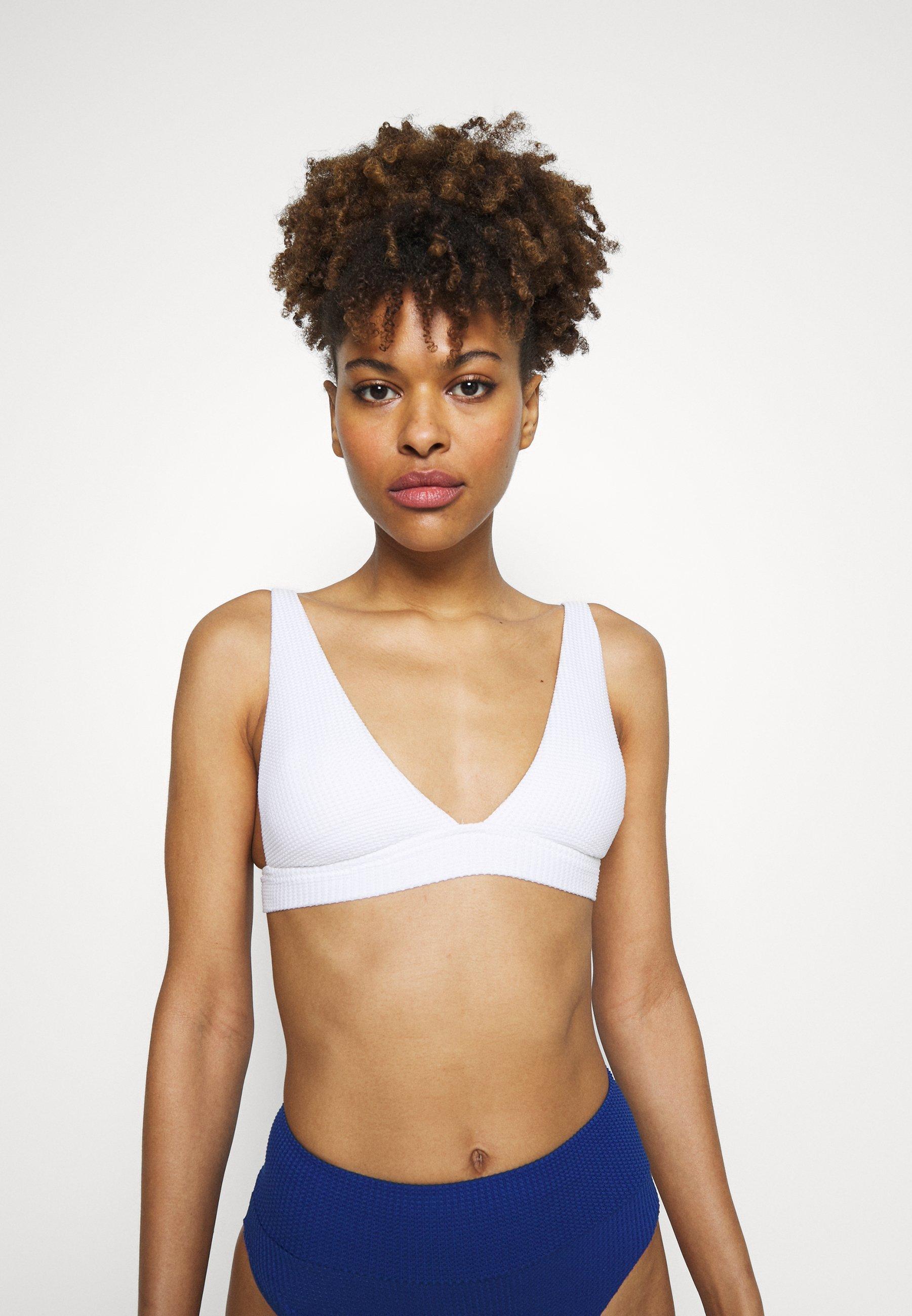 Women ELONGATED TRIANGLE BAND - Bikini top