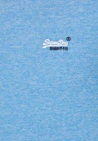 Superdry - VINTAGE CREW - Basic T-shirt - royal blue feeder - 2