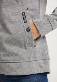 Schmuddelwedda - Zip-up hoodie - grau melange - 4