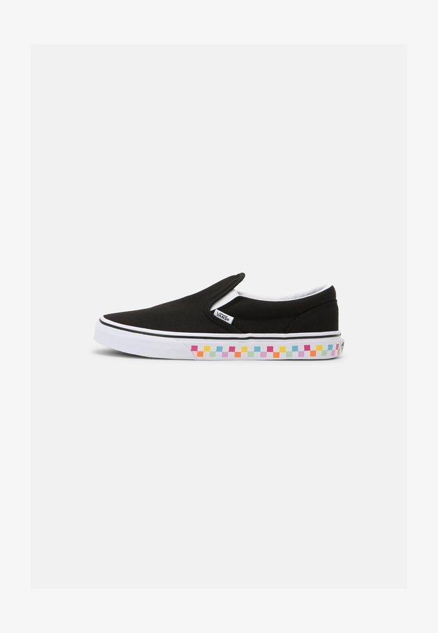 CLASSIC SLIP-ON - Sneakers - rainbow/black