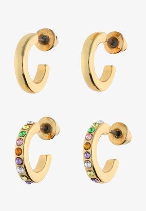 SET OF 2 - Earrings - gold