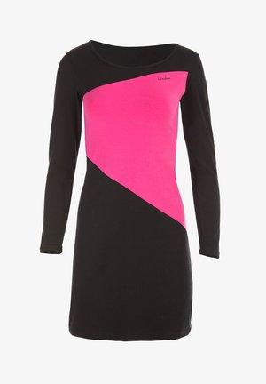 Day dress - schwarz/pink