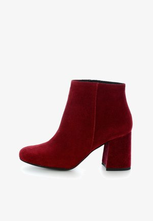 ABAZZIA - Classic ankle boots - bordowy
