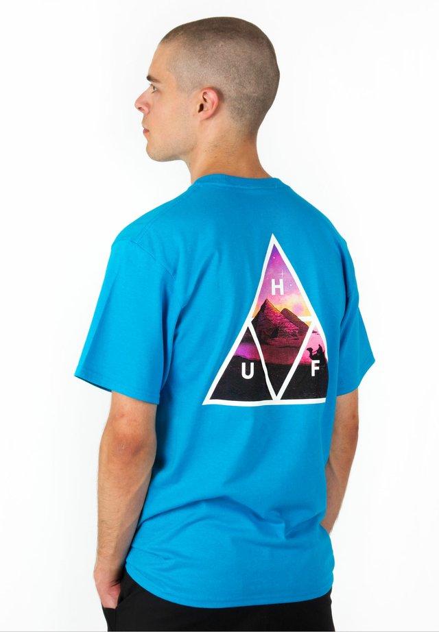 T-SHIRT MIRAGE TT - T-shirt imprimé - turquoise