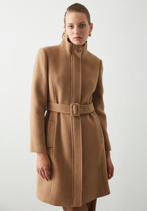 HEAVY - Classic coat - camel
