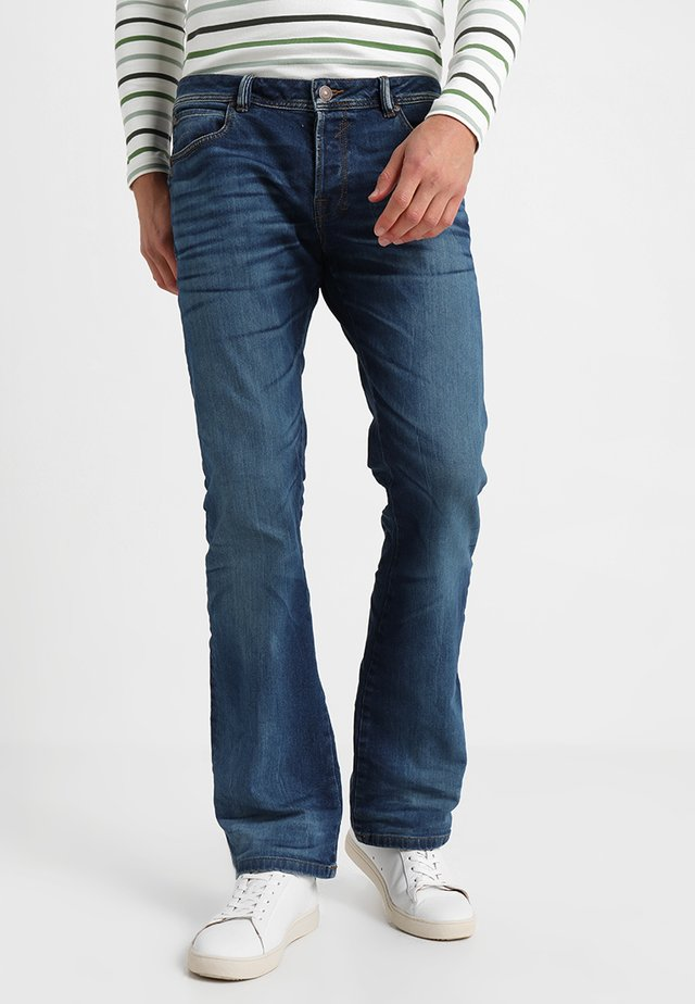 RODEN - Jeansy Bootcut - lazaro wash
