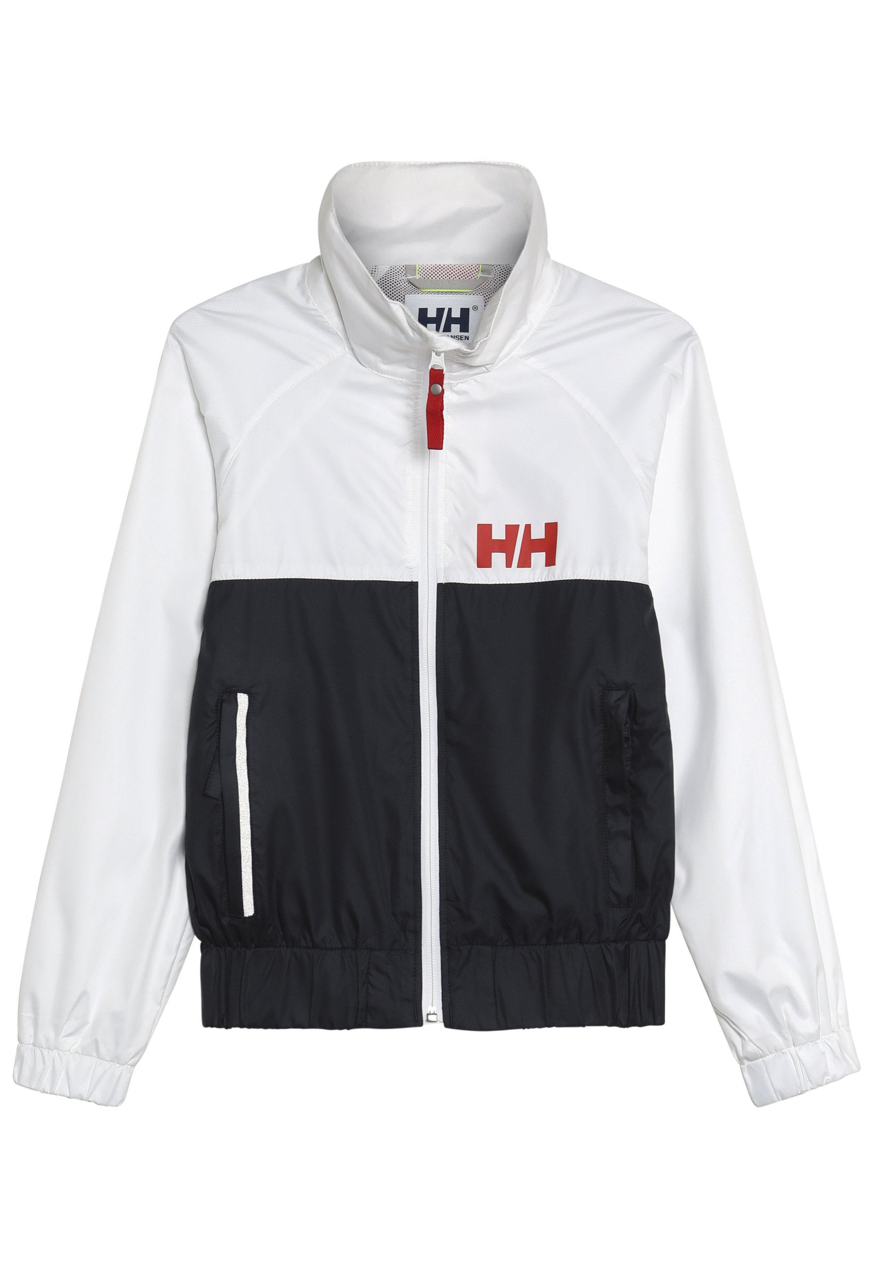 BLACKWHITE BLOCK IT ALLVÆRSJAKKE JUNIOR | Helly Hansen