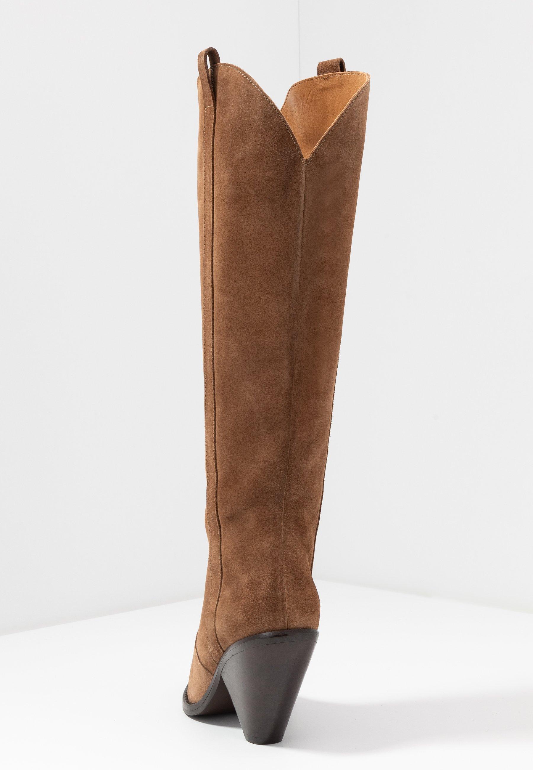 Toral Boots med høye hæler - basket oscuro
