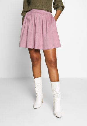 VICHOOSE SKIRT - A-line skirt - pale mauve