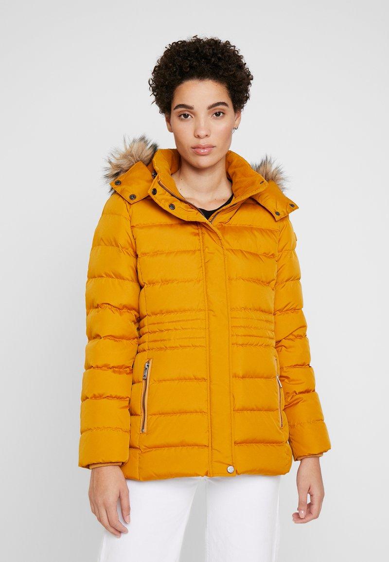 Esprit - JACKET - Vinterjakke - amber yellow