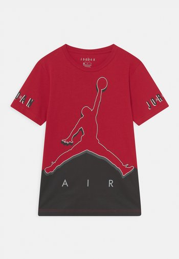 JUMPMAN WILD UTILITY UNISEX - Print T-shirt - gym red
