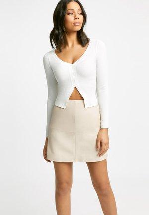 Mini skirt - off-white