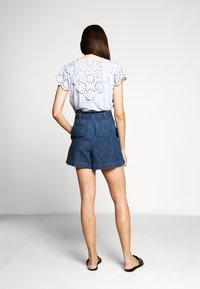 J.CREW - PAPER BAG - Denim shorts - santa ana wash - 2