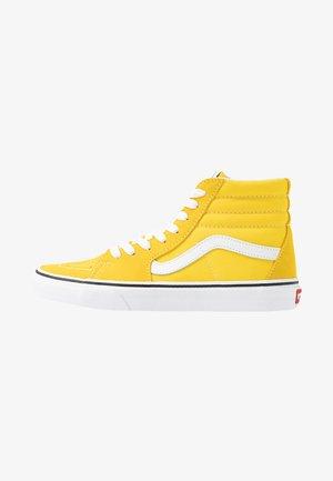 SK8 UNISEX - Zapatillas altas - yellow/white