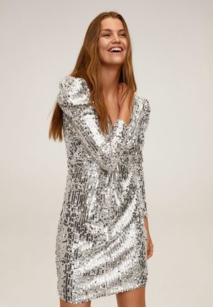 KIM-X - Cocktail dress / Party dress - silber