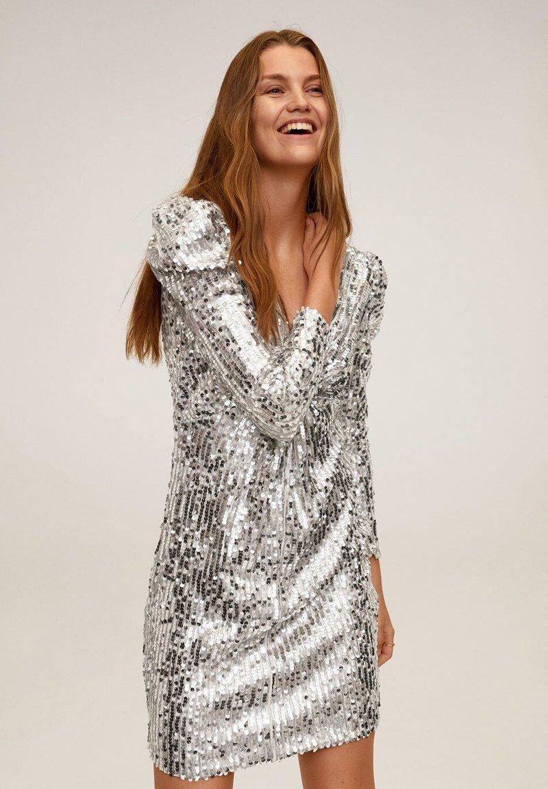 Mango - KIM-X - Cocktail dress / Party dress - silber