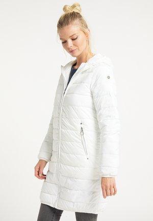STEPPMANTEL - Winter coat - wollweiss