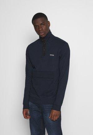JCOHUSH HIGH NECK - Sweatshirt - navy blazer