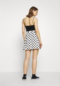 Even&Odd - A-line skirt - off-white/black - 2