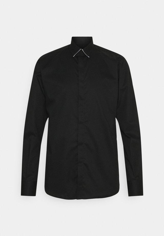 SHIRT MODERN FIT - Camisa elegante - black