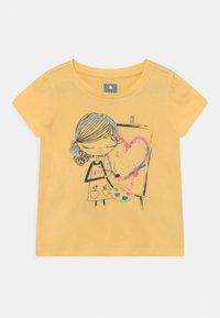 GAP - TODDLER GIRL BEA - Print T-shirt - yellow - 0