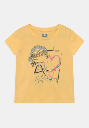 TODDLER GIRL BEA - Triko s potiskem - yellow