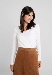 Esprit - CORE  - Long sleeved top - white - 0