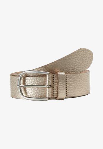 Belt - light gold