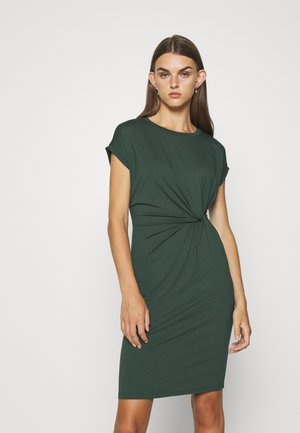 FAITH DRESS - Pouzdrové šaty - green