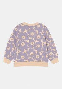 Marimekko - KUULAS MINI UNIKKO - Sweatshirt - light beige/lavender - 1