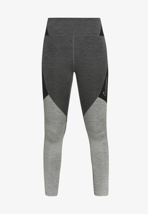 NOVELTY - Legging - black/iron grey/white