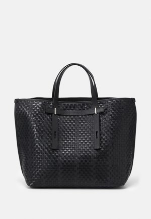 GIOVE CASUAL TOTE UNISEX - Shopping bag - toni nero