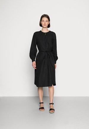 MATHILDE - Shirt dress - black